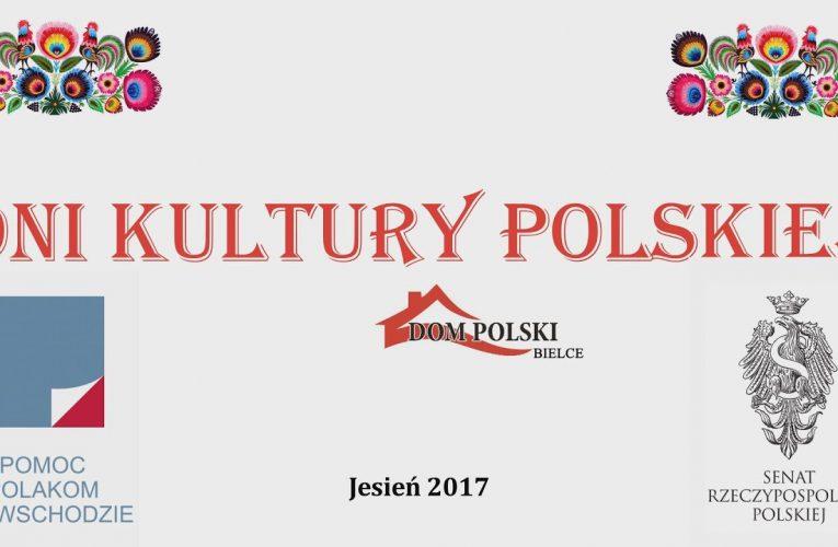 Dni Kultury Polskiej. Bielce 2017