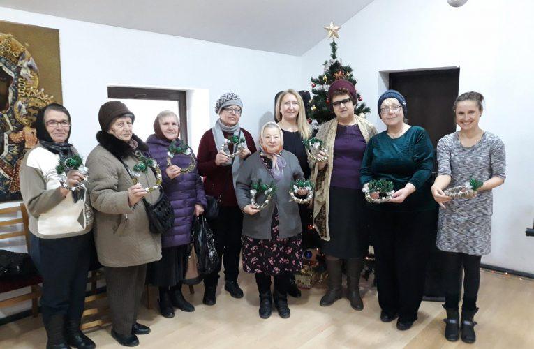 Świąteczne spotkanie z Seniorkami