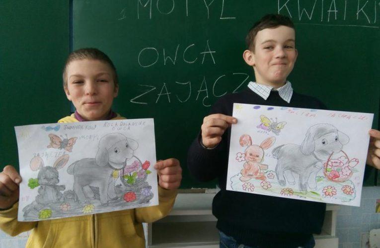 Lekcja o tradycjach Wielkanocnych w Grigorówce.