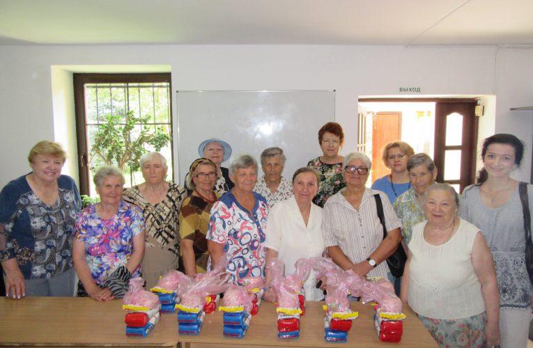 Spotkanie Seniorów przy herbacie