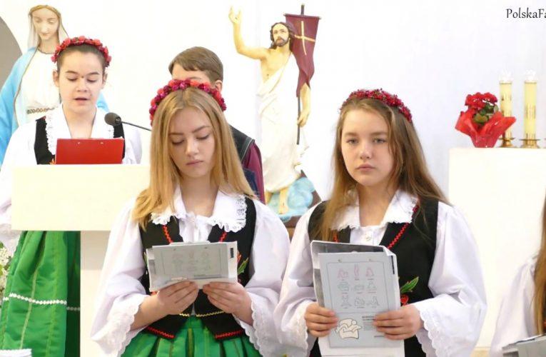Koncert dzieci Doma Polskiego w Bielicach