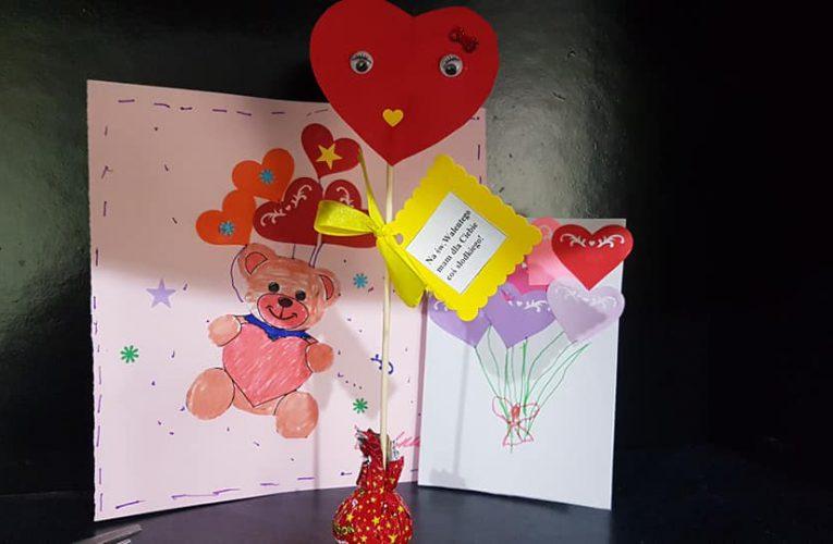 «Na św. Walentego mam dla Ciebie coś słodkiego»