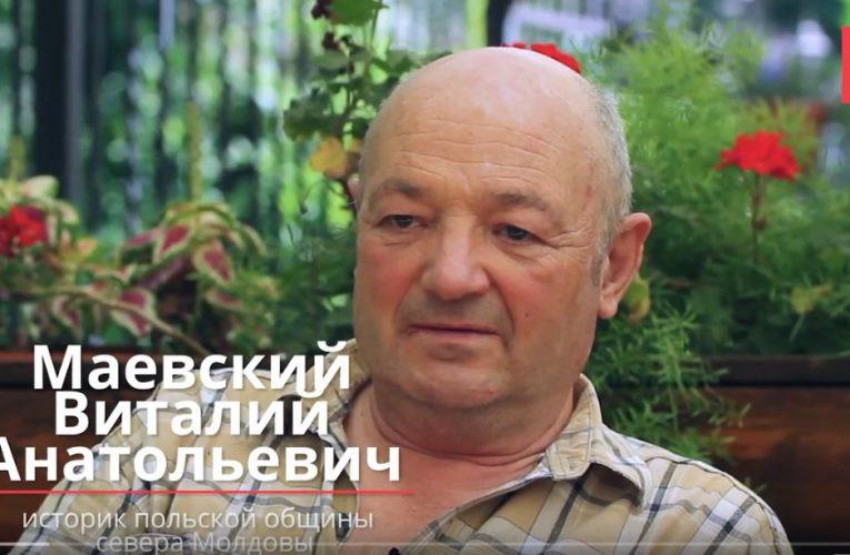 Wywiad z historykiem polskiej społeczności na północy Mołdawii Witalijem Majewskim