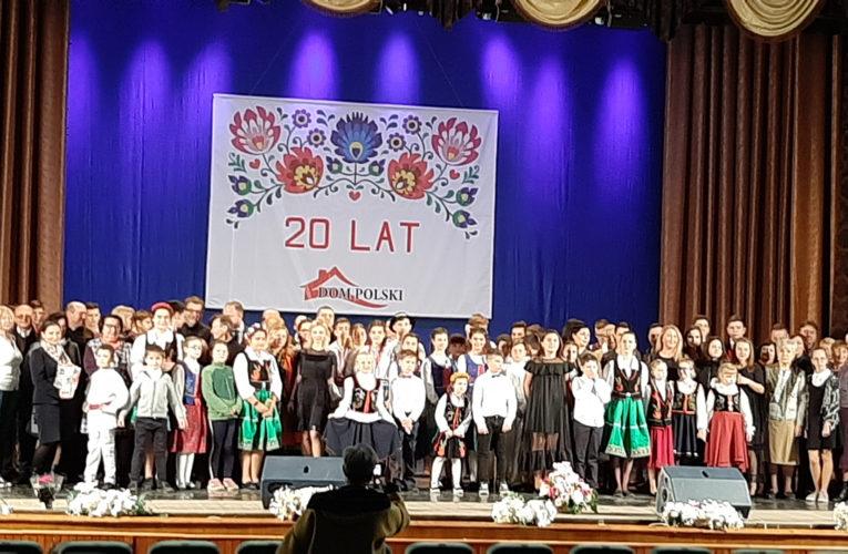 Domu Polskiemu 20 lat. Koncert