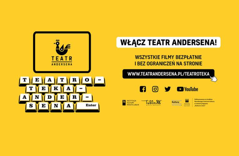 Teatr Andersena w Lublinie ponownie w trybie online