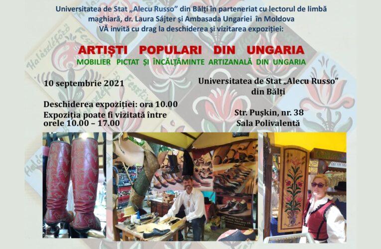 Mobilier pictat și încălțăminte artizanală din Ungaria